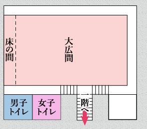 館内案内図(2階)